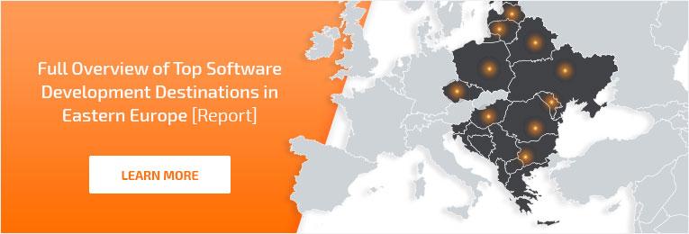Easter European Software development destinations (complete market report)