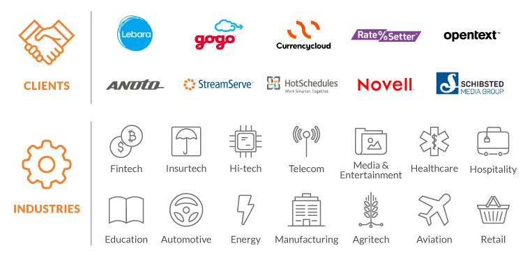 custom application development industries in Ukraine
