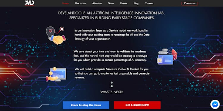 dedicated team of AI developers at Develandoo