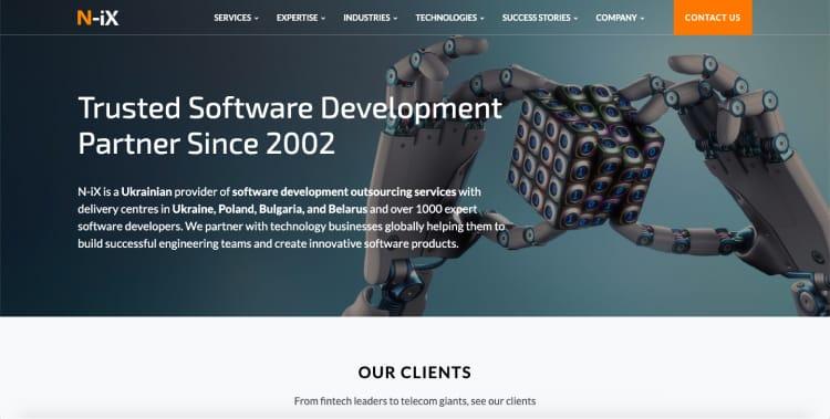 dedicated team of AI developers at N-iX
