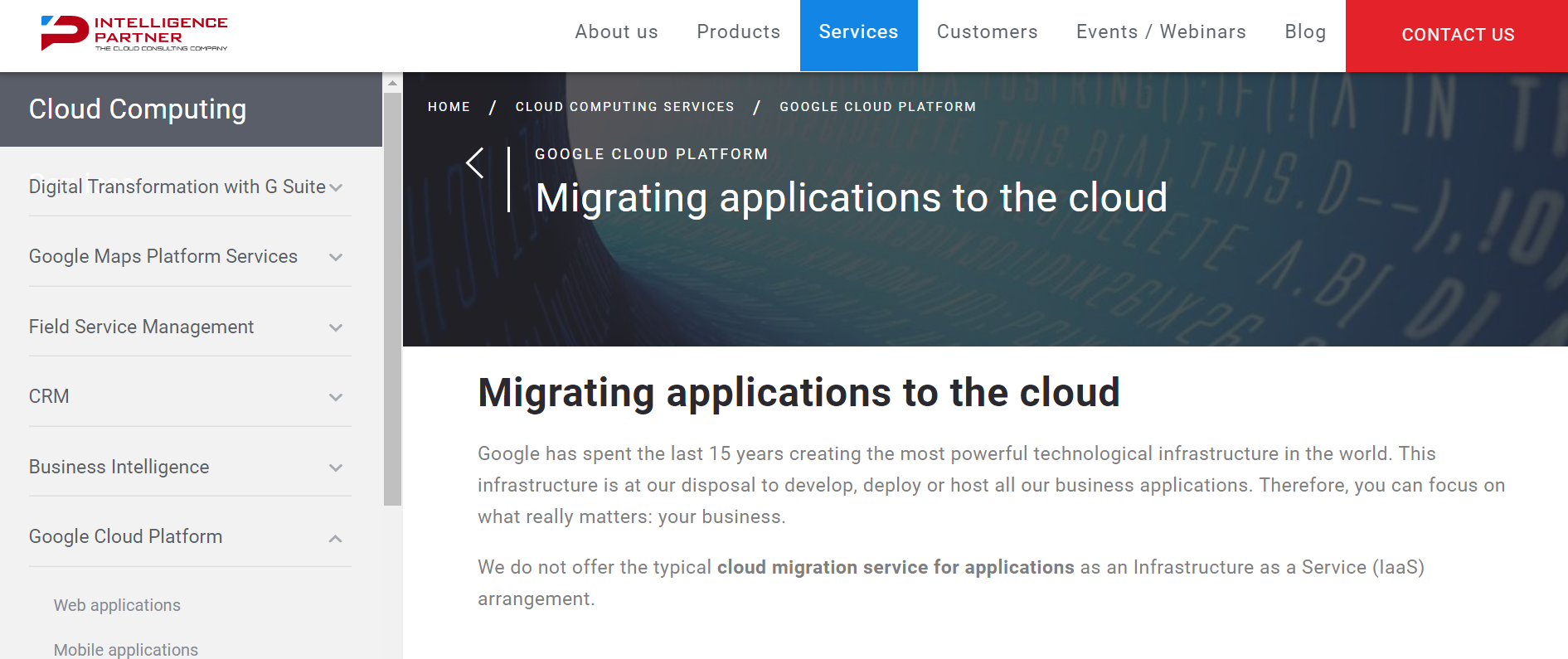 cloud migration service providers Spain