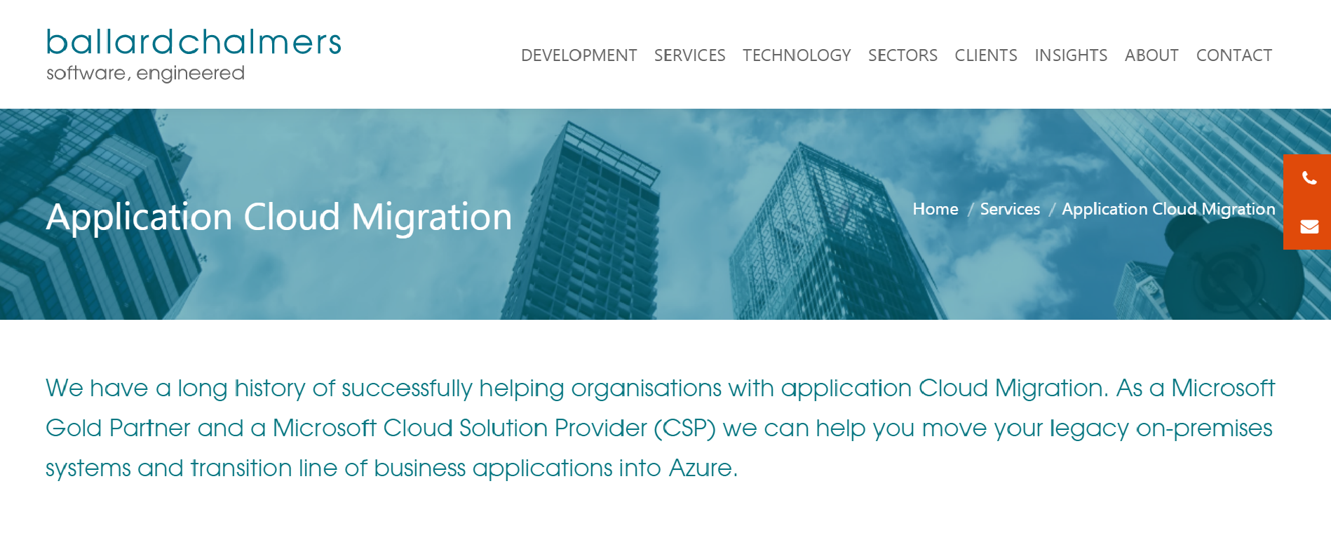 cloud migration companies in the UK