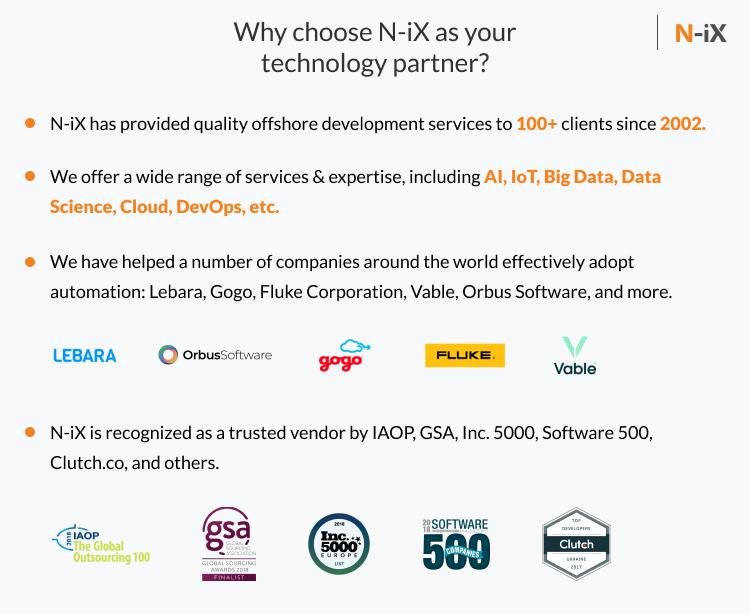 N-iX as a technology partner