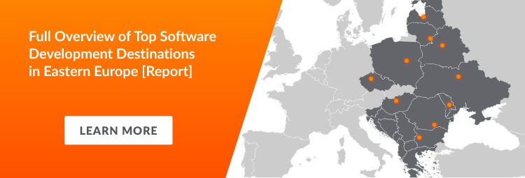 Top IT outsourcing destination in Eastern Europe