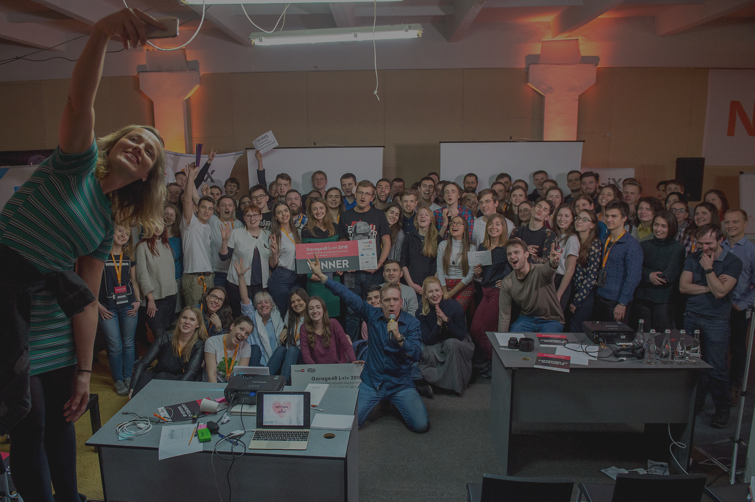 Garage48 Empowering Women Hackathon at N-iX: Boosting Female Entrepreneurship in Lviv