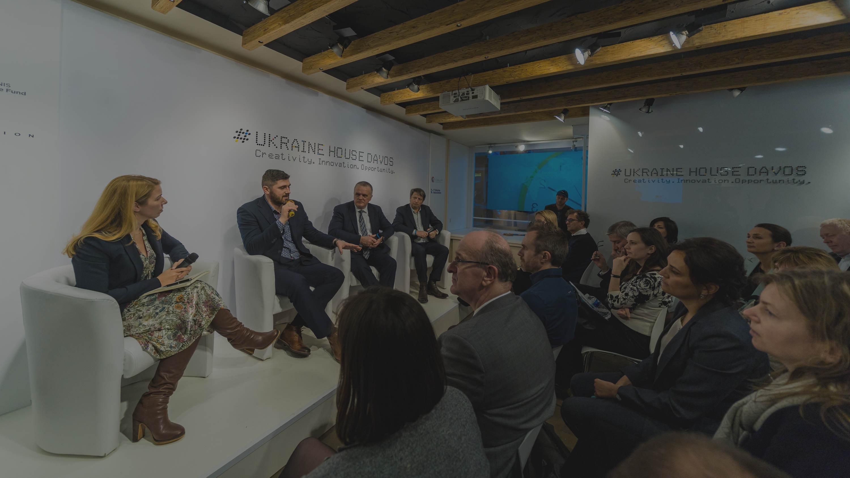 IT-Fueled Ukraine House in Davos alongside WEF