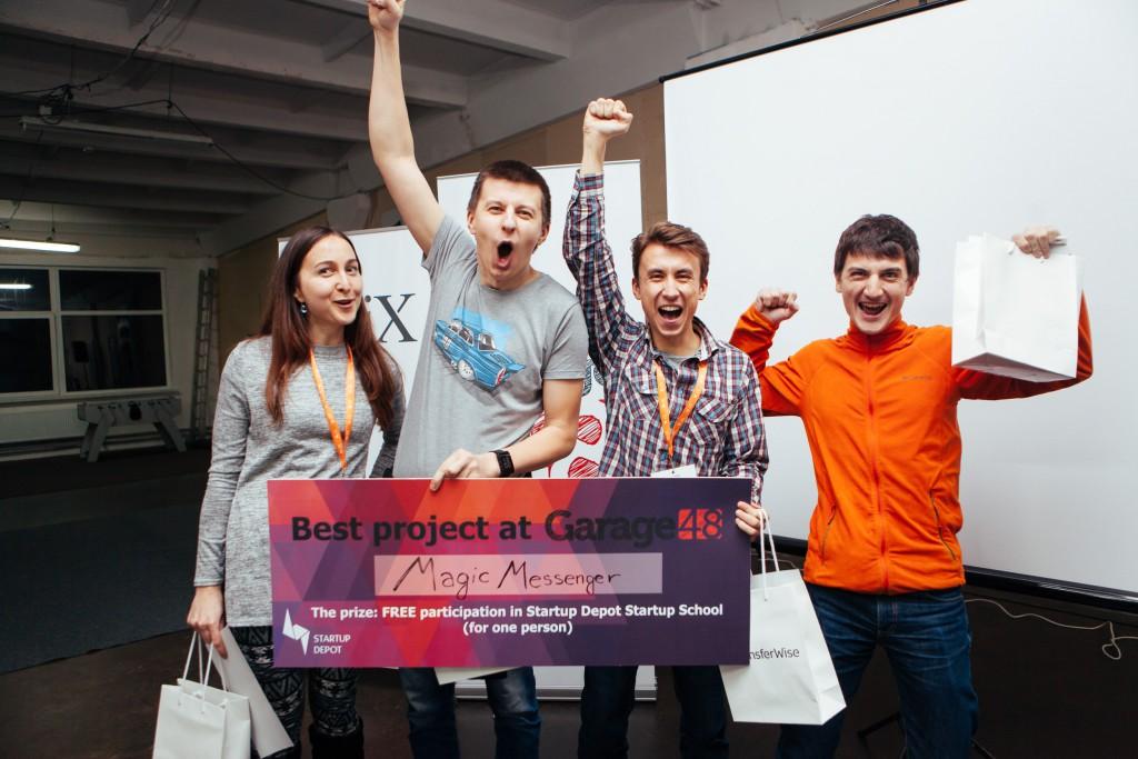 Garage48 Hackathon First Time in Lviv (Ukraine) at N-iX