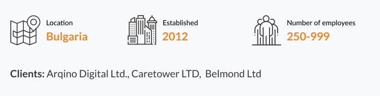 provider of offshore development services in Bulgaria