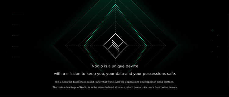 Nodio blockchain screenshot