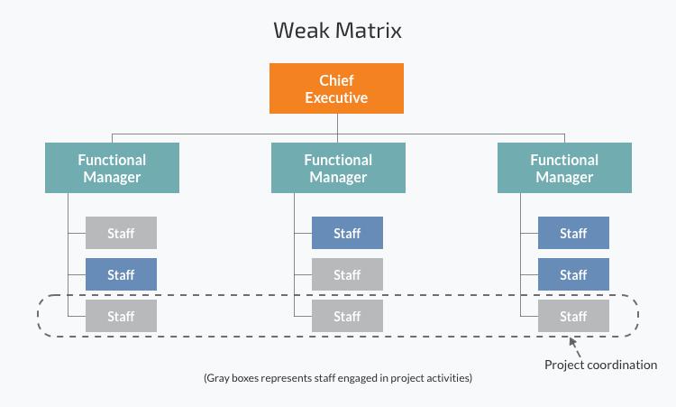 How to manage an engineering organization: Weak matrix