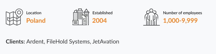 java software development company in Poland