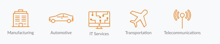 IoT software development companies in Poland (industries)
