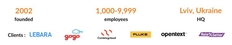 N-iX is the best DevOps as a service company in Eastern Europe