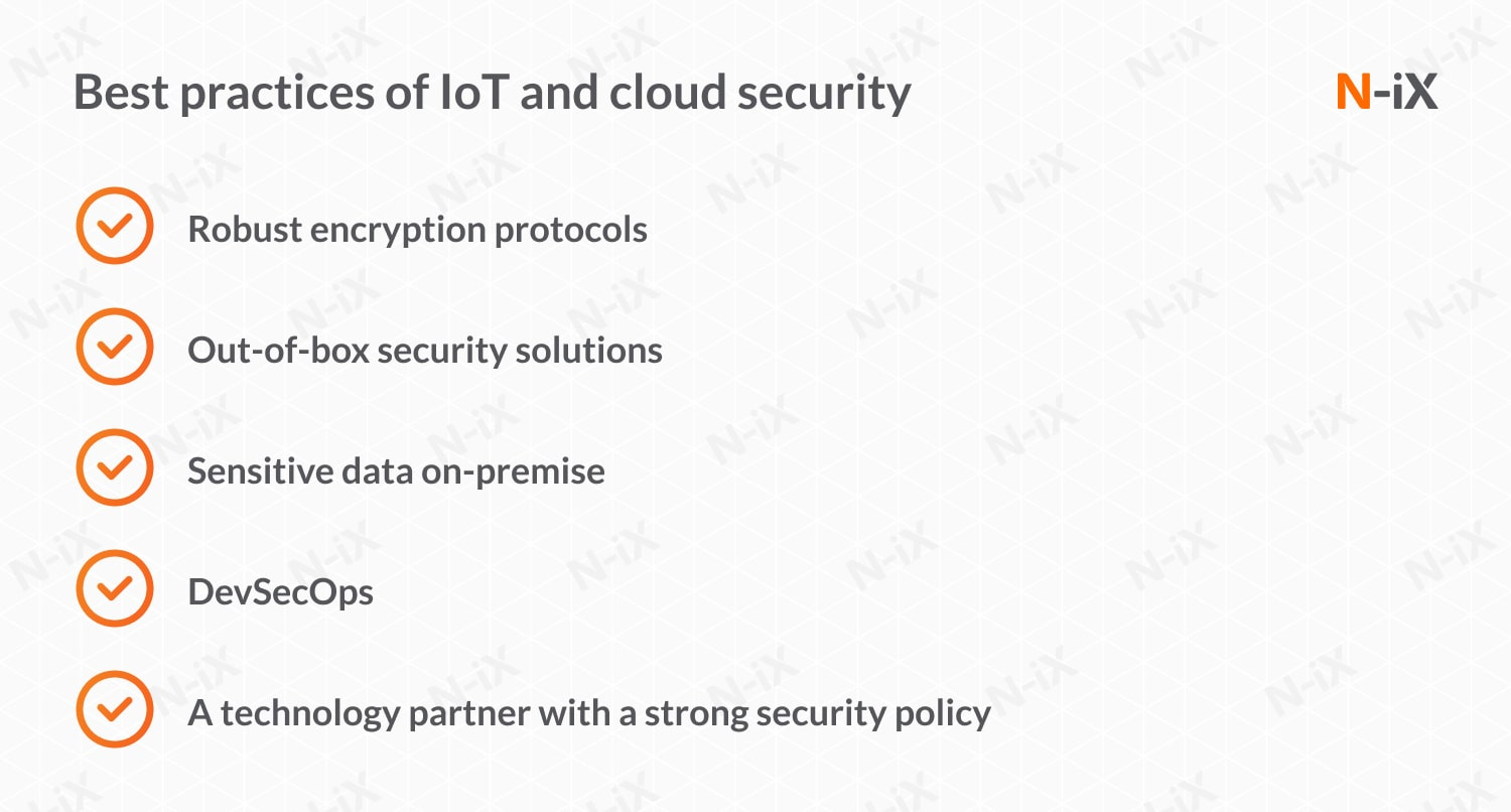 IoT and cloud security: best practices