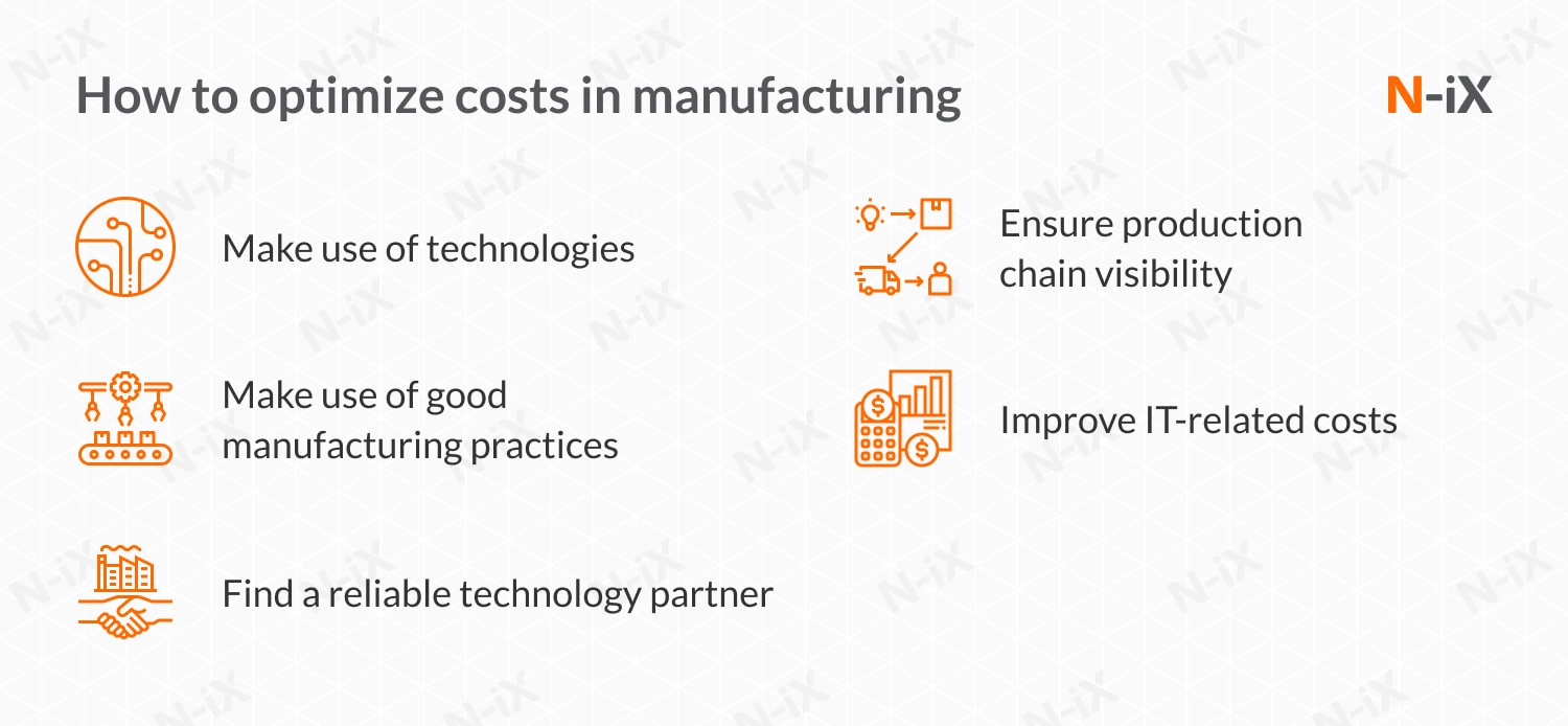 cost saving ideas in manufacturing