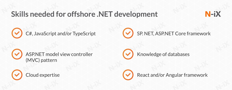 offshore .NET developers: key skills