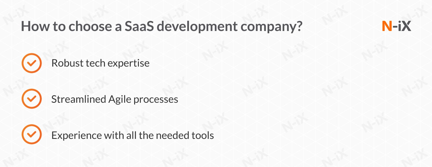 SaaS development: how to choose a partner