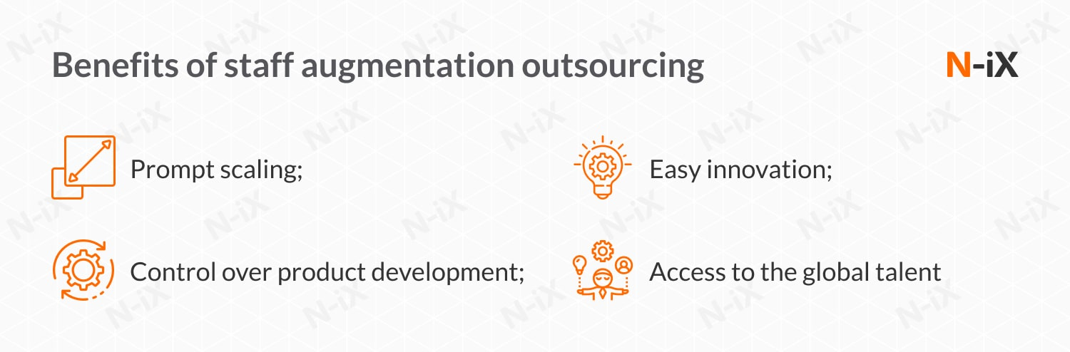 Staff augmentation outsourcing: benefits