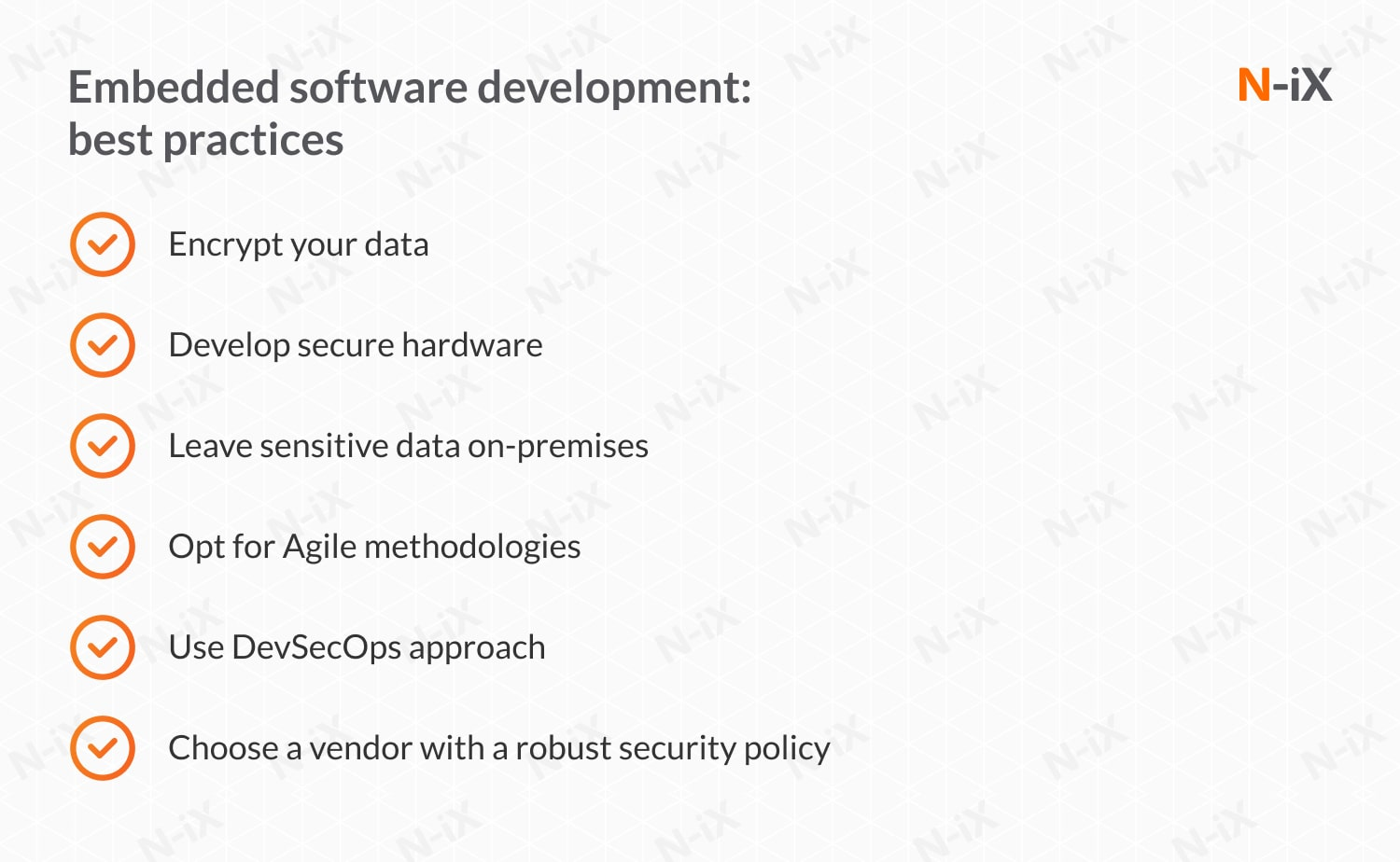 embedded real-time software development: best practices